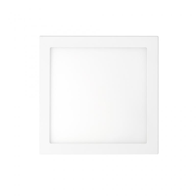 Plafonier, spot alb incastrabil, dim. 22x22cm, 18W cold light, FONT LED 42855, Spoturi LED incastrate, aplicate, Corpuri de iluminat, lustre, aplice, veioze, lampadare, plafoniere. Mobilier si decoratiuni, oglinzi, scaune, fotolii. Oferte speciale iluminat interior si exterior. Livram in toata tara.  a
