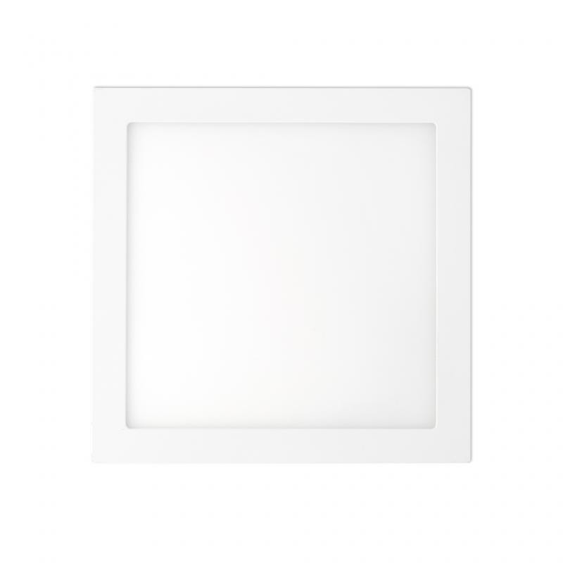Plafonier, spot alb incastrabil, dim. 30x30cm, 25W warm light , FONT LED 42858, Faro Barcelona , Spoturi incastrate, aplicate - tavan / perete, Corpuri de iluminat, lustre, aplice, veioze, lampadare, plafoniere. Mobilier si decoratiuni, oglinzi, scaune, fotolii. Oferte speciale iluminat interior si exterior. Livram in toata tara.  a