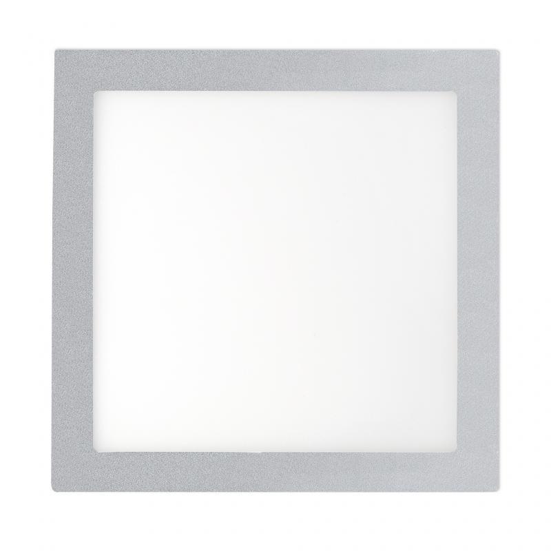 Plafonier, spot gri incastrabil, dim. 30x30cm, 25W cold light, FONT LED 42861, Faro Barcelona , Spoturi LED incastrate, aplicate, Corpuri de iluminat, lustre, aplice a