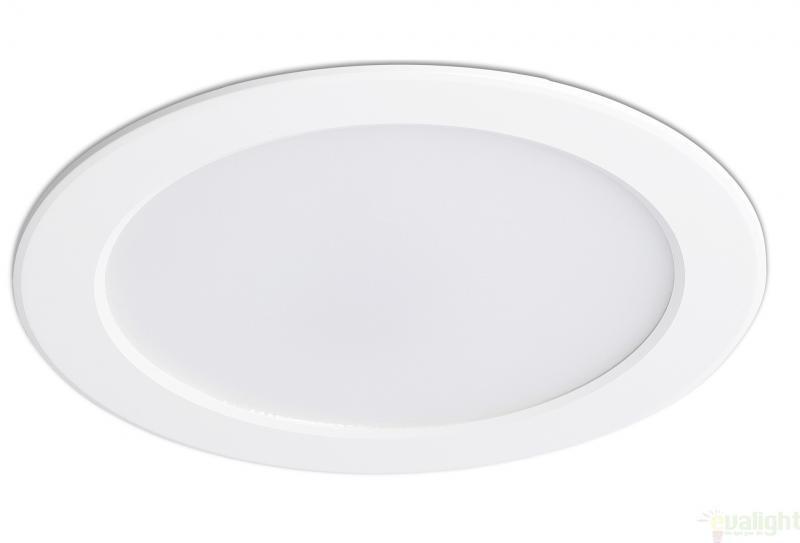 Spot LED alb incastrabil pentru baie cu protectie IP 44, TOD 42927 Faro Barcelona , Spoturi incastrate, aplicate - tavan / perete, Corpuri de iluminat, lustre, aplice, veioze, lampadare, plafoniere. Mobilier si decoratiuni, oglinzi, scaune, fotolii. Oferte speciale iluminat interior si exterior. Livram in toata tara.  a