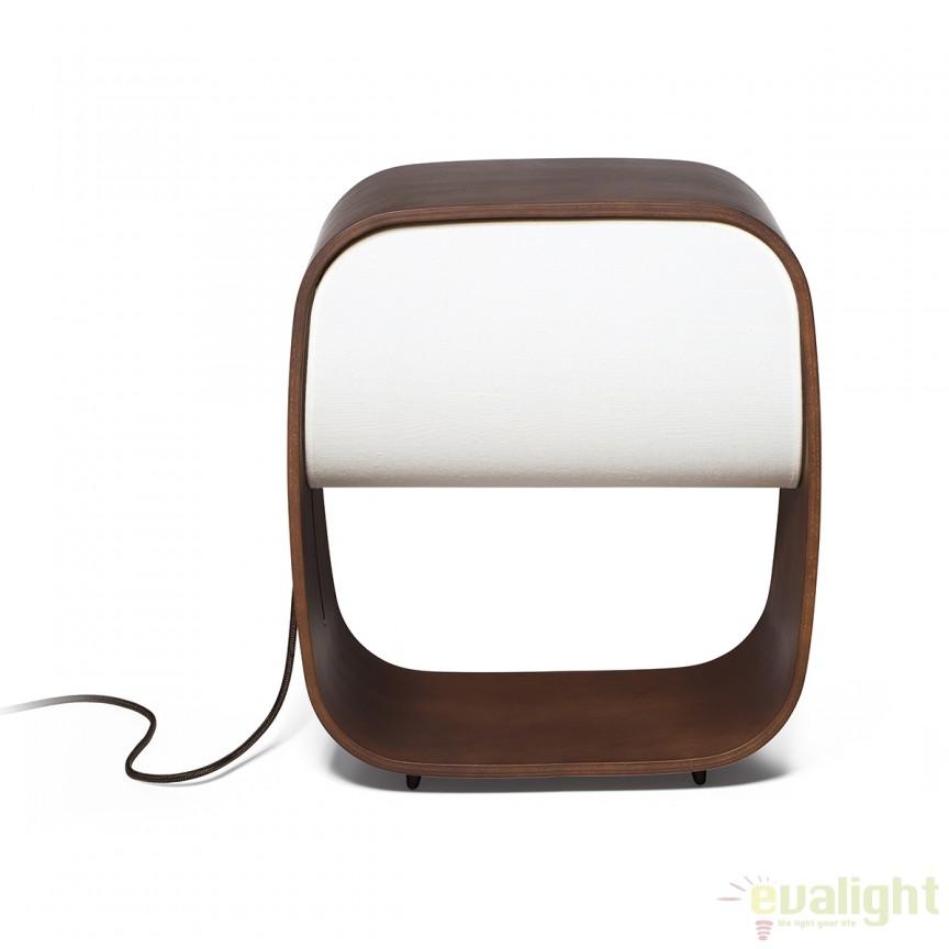 Lampa LED design original Wood 1968 28372 Faro Barcelona , Veioze, Corpuri de iluminat, lustre, aplice, veioze, lampadare, plafoniere. Mobilier si decoratiuni, oglinzi, scaune, fotolii. Oferte speciale iluminat interior si exterior. Livram in toata tara.  a