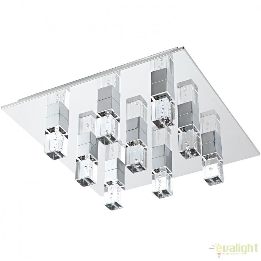 Plafoniera moderna, iluminat LED, 47x47cm CANTIL 1 95183 EL, Cele mai noi produse 2017 a