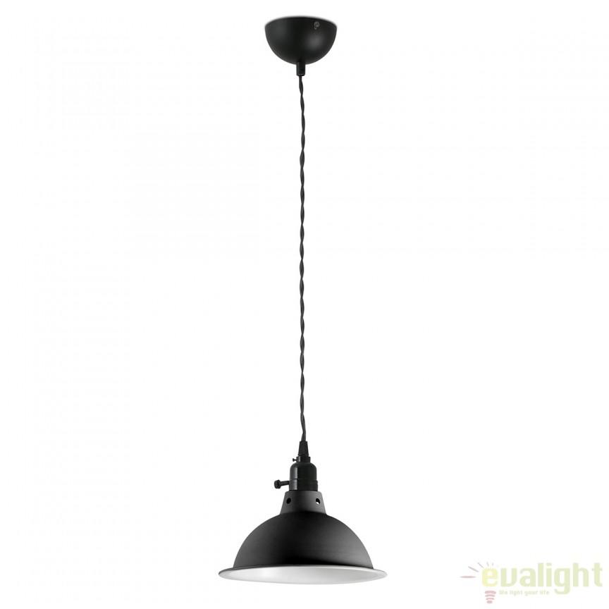 Lustra / Pendul design Industrial Style PEPPER negru 64167 Faro Barcelona, Cele mai noi produse 2017 a