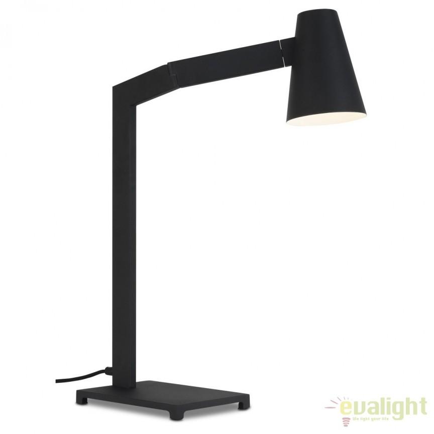 Lampa de masa din metal Biarritz negru BIARRITZ/T/B, Magazin,  a