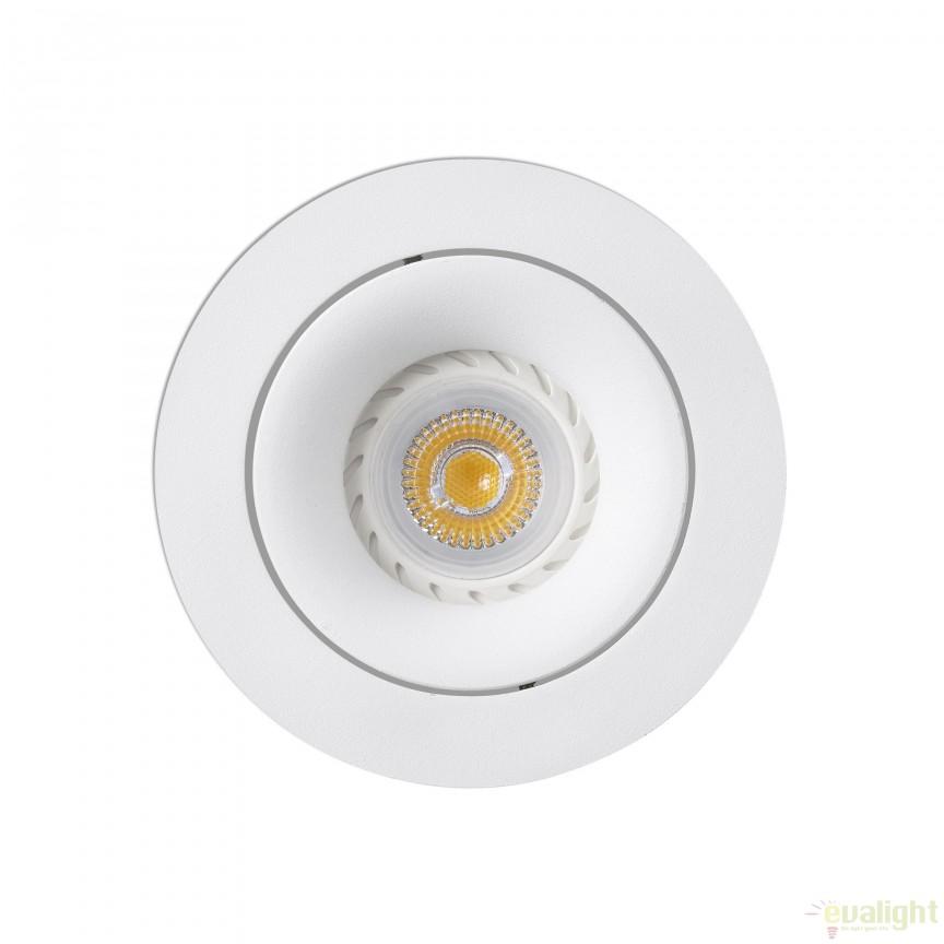 Spot LED incastrabil pentru baie cu protectie IP44 WET alb 02100801 , Spoturi incastrate, aplicate - tavan / perete, Corpuri de iluminat, lustre, aplice a