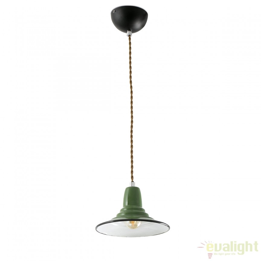 Pendul design Industrial Style NINETTE verde 64165 ,  a