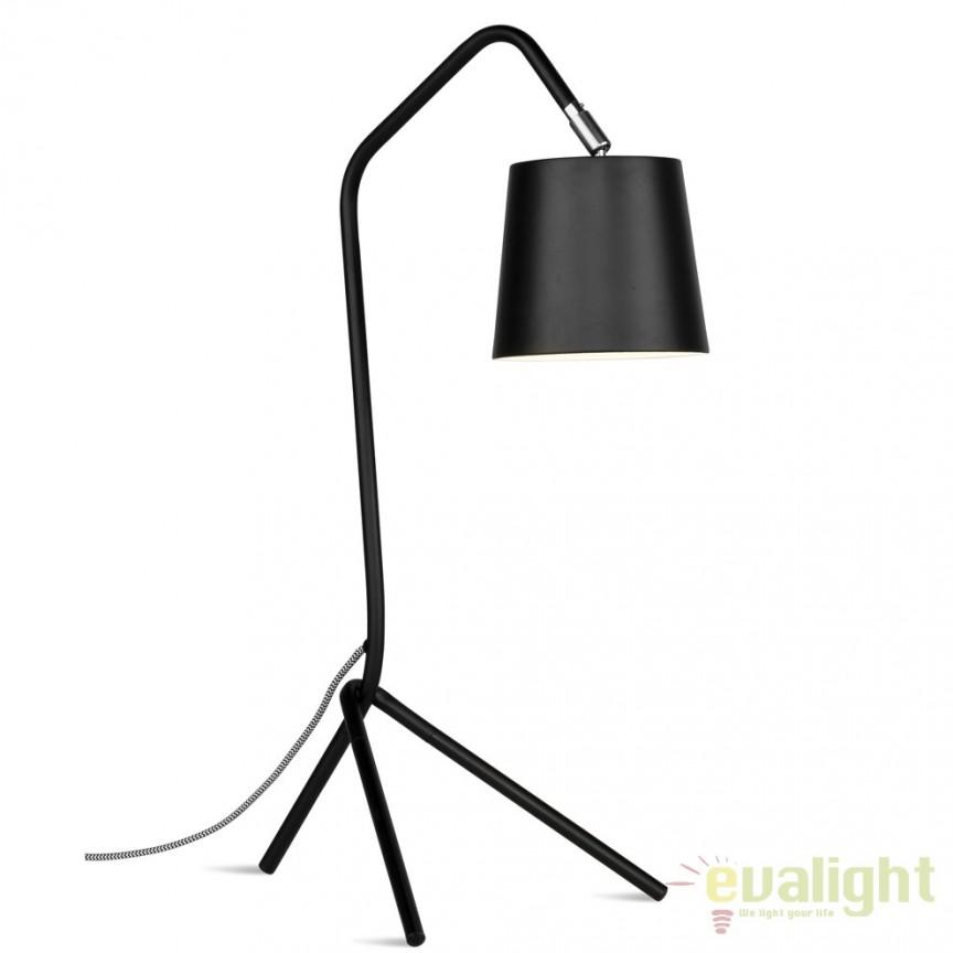 Lampa de masa din metal cu 3 picioare BARCELONA negru BARCELONA/T/B  , Magazin,  a