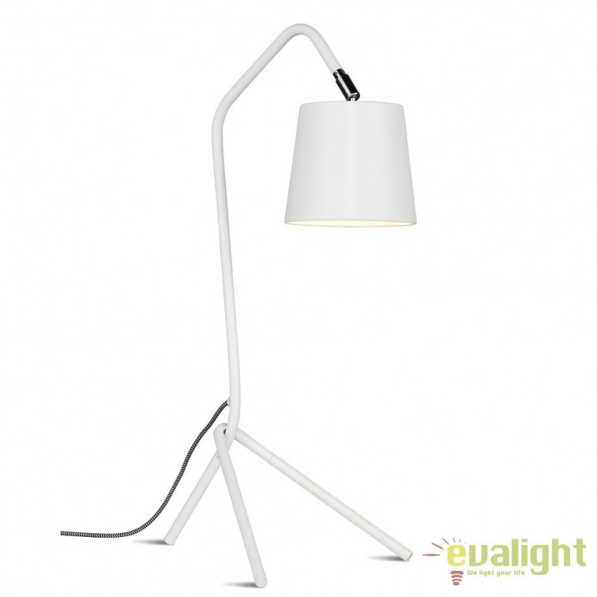 Lampa de masa din metal cu 3 picioare BARCELONA alb BARCELONA/T/TL, Magazin,  a