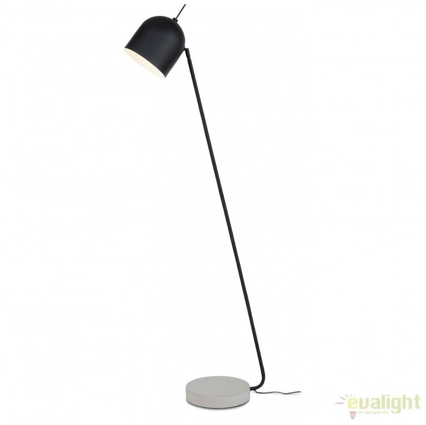Lampadar elegant cu baza din ciment MADRID negru MADRID/F/B, Magazin,  a