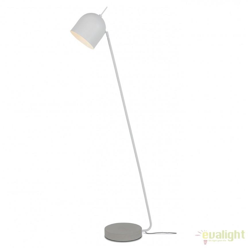 Lampadar elegant cu baza din ciment MADRID alb MADRID/F/W, Magazin,  a