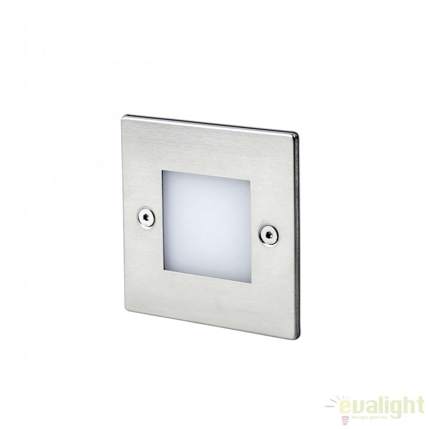 Spot LED incastrabil de exterior cu protectie IP65 FROL 70135 , Iluminat exterior incastrabil , Corpuri de iluminat, lustre, aplice, veioze, lampadare, plafoniere. Mobilier si decoratiuni, oglinzi, scaune, fotolii. Oferte speciale iluminat interior si exterior. Livram in toata tara.  a