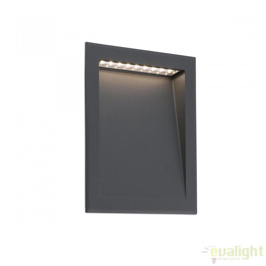 Spot LED incastrabil de exterior cu protectie IP65 SOUN 70900 , Iluminat exterior incastrabil , Corpuri de iluminat, lustre, aplice, veioze, lampadare, plafoniere. Mobilier si decoratiuni, oglinzi, scaune, fotolii. Oferte speciale iluminat interior si exterior. Livram in toata tara.  a