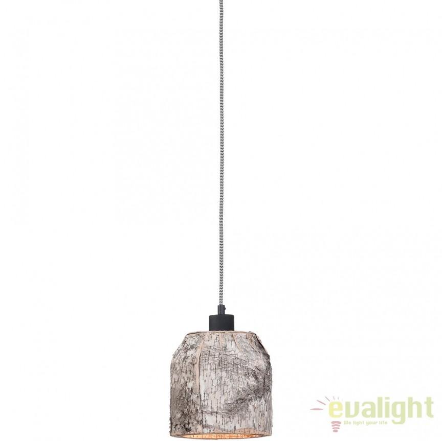 Pendul design rustic din lemn ASPEN ASPEN24/H1/N, PROMOTII,  a