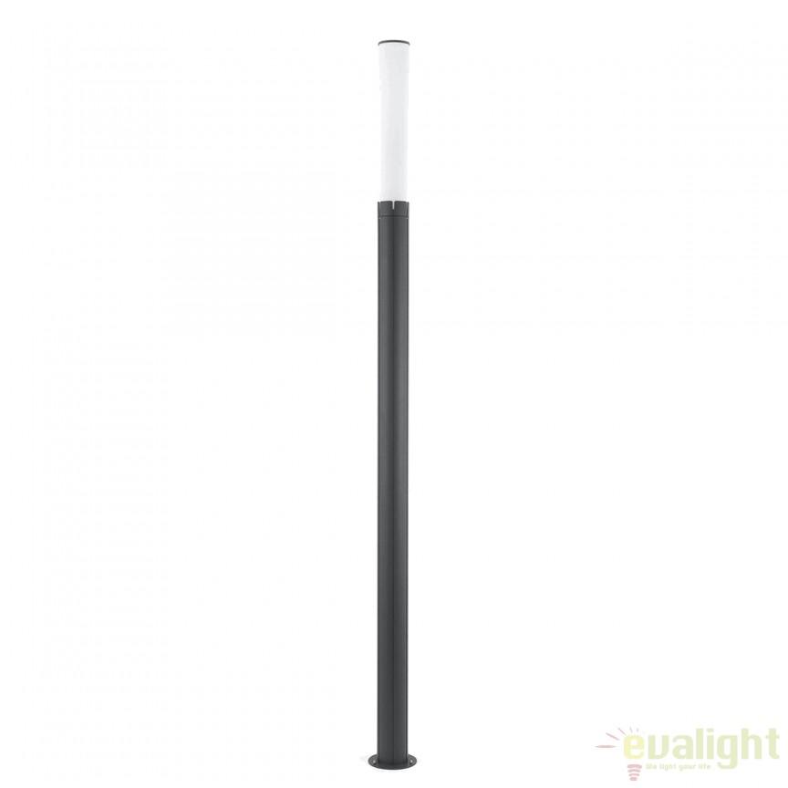 Stalp LED de iluminat exterior modern cu protectie IP65 TRAM 75532 , Stalpi de iluminat exterior mari, Corpuri de iluminat, lustre, aplice, veioze, lampadare, plafoniere. Mobilier si decoratiuni, oglinzi, scaune, fotolii. Oferte speciale iluminat interior si exterior. Livram in toata tara.  a