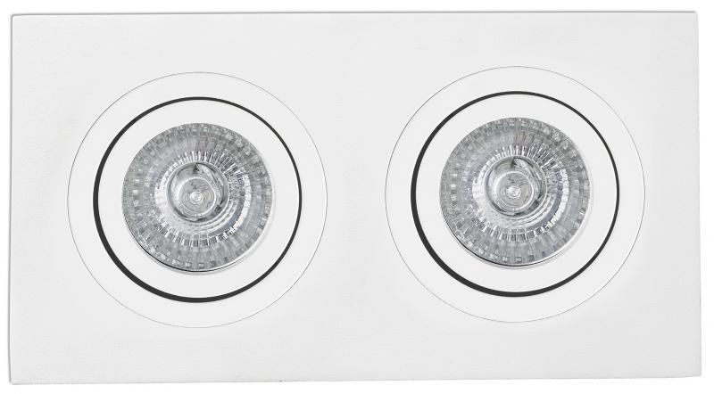 Spot directionabil, incastrabil, alb, dim. 25x9,2cm RADON-2, 43397 Faro Barcelona , Spoturi incastrate, aplicate - tavan / perete, Corpuri de iluminat, lustre, aplice a