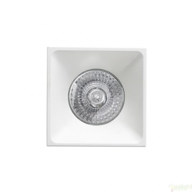 Spot incastrabil modern, dim. 7.5x7,5 cm, NEON-C 43400 Faro Barcelona , Spoturi incastrate, aplicate - tavan / perete, Corpuri de iluminat, lustre, aplice, veioze, lampadare, plafoniere. Mobilier si decoratiuni, oglinzi, scaune, fotolii. Oferte speciale iluminat interior si exterior. Livram in toata tara.  a
