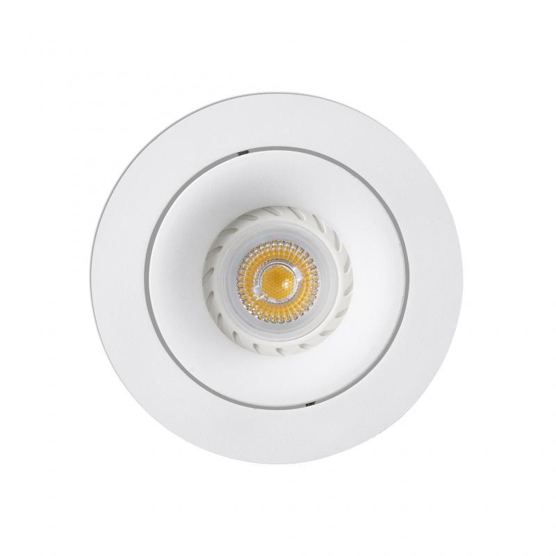 Rama Spot directionabil, incastrabil, alb, diametru 11cm ARGON-R, 43401 , Spoturi LED incastrate, aplicate, Corpuri de iluminat, lustre, aplice, veioze, lampadare, plafoniere. Mobilier si decoratiuni, oglinzi, scaune, fotolii. Oferte speciale iluminat interior si exterior. Livram in toata tara.  a
