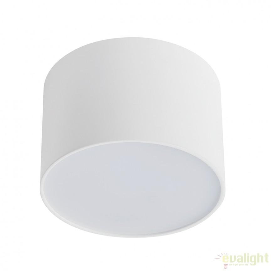 Spot LED aplicat design modern ALPHA 112281 SU, Spoturi incastrate, aplicate - tavan / perete, Corpuri de iluminat, lustre, aplice, veioze, lampadare, plafoniere. Mobilier si decoratiuni, oglinzi, scaune, fotolii. Oferte speciale iluminat interior si exterior. Livram in toata tara.  a