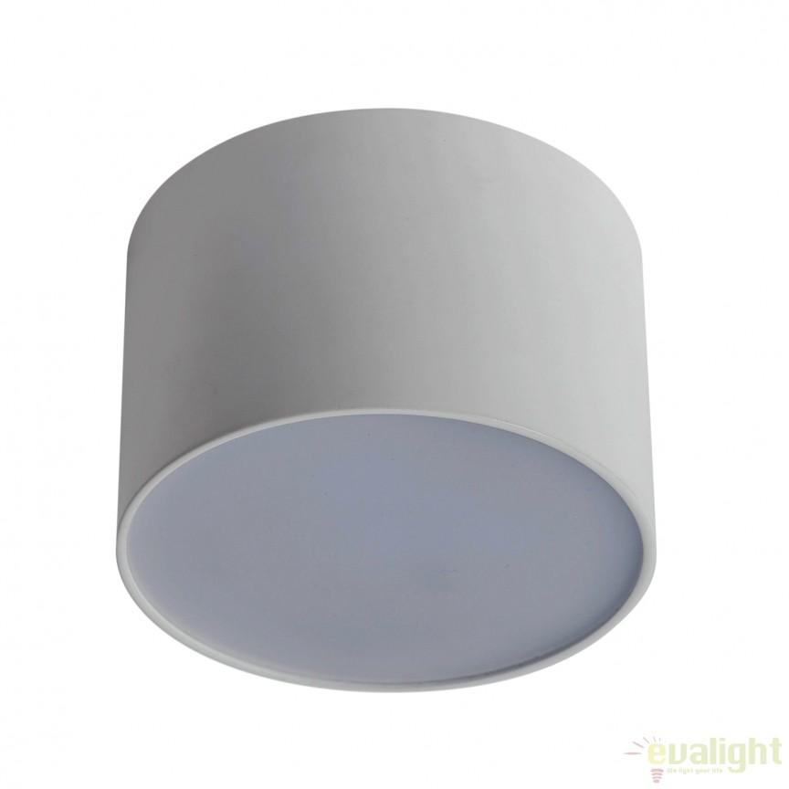 Spot LED aplicat cu protectie IP40 ALPHA 15W 800121 SU, Spoturi incastrate, aplicate - tavan / perete, Corpuri de iluminat, lustre, aplice, veioze, lampadare, plafoniere. Mobilier si decoratiuni, oglinzi, scaune, fotolii. Oferte speciale iluminat interior si exterior. Livram in toata tara.  a