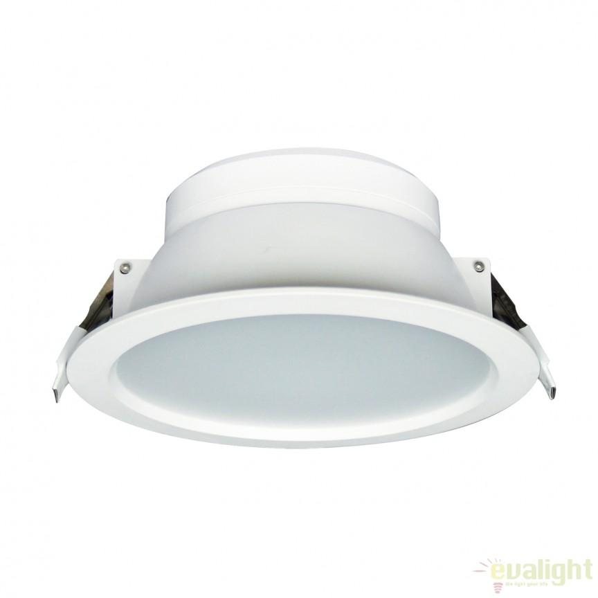 Spot LED incastrabil dimabil Bugy II 101176 SU, Spoturi incastrate, aplicate - tavan / perete, Corpuri de iluminat, lustre, aplice, veioze, lampadare, plafoniere. Mobilier si decoratiuni, oglinzi, scaune, fotolii. Oferte speciale iluminat interior si exterior. Livram in toata tara.  a