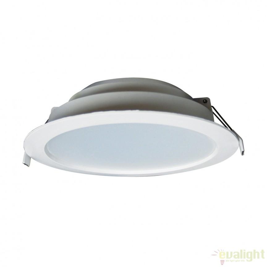 Spot LED incastrabil dimabil Bugy II 18cm 101174 SU, Spoturi incastrate, aplicate - tavan / perete, Corpuri de iluminat, lustre, aplice, veioze, lampadare, plafoniere. Mobilier si decoratiuni, oglinzi, scaune, fotolii. Oferte speciale iluminat interior si exterior. Livram in toata tara.  a