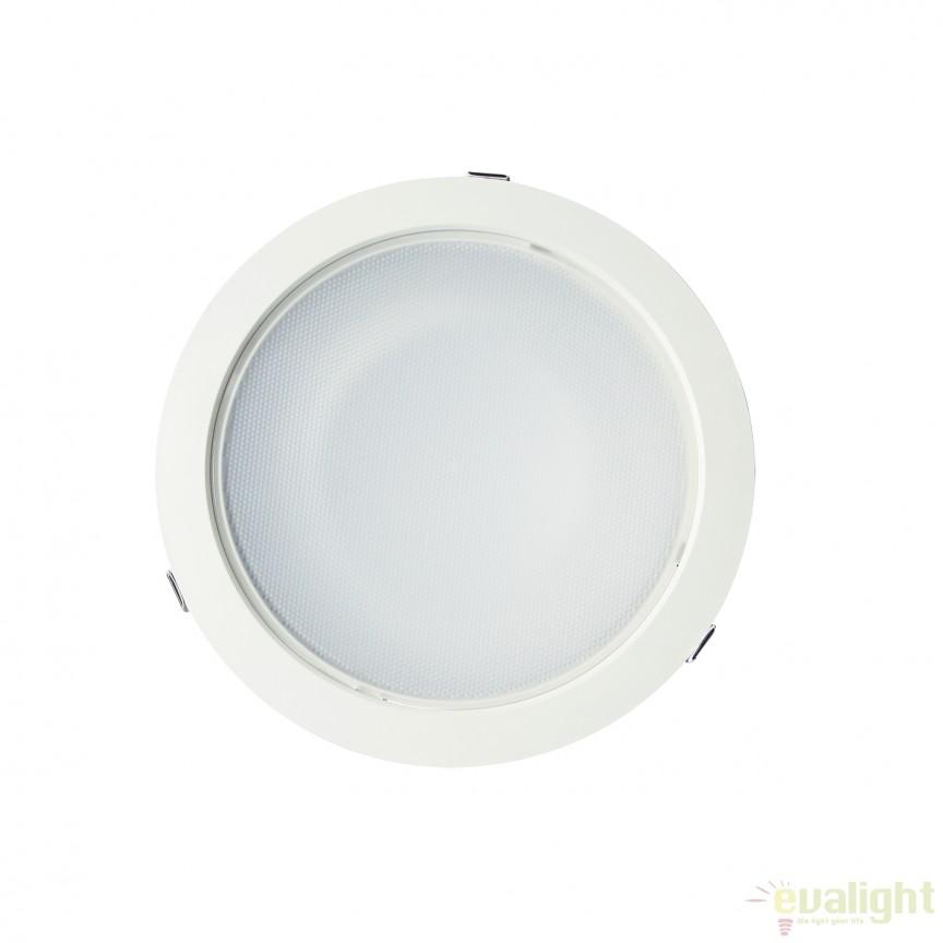 Spot LED incastrabil dimabil Bugy II 23cm 101149 SU, Spoturi incastrate, aplicate - tavan / perete, Corpuri de iluminat, lustre, aplice, veioze, lampadare, plafoniere. Mobilier si decoratiuni, oglinzi, scaune, fotolii. Oferte speciale iluminat interior si exterior. Livram in toata tara.  a