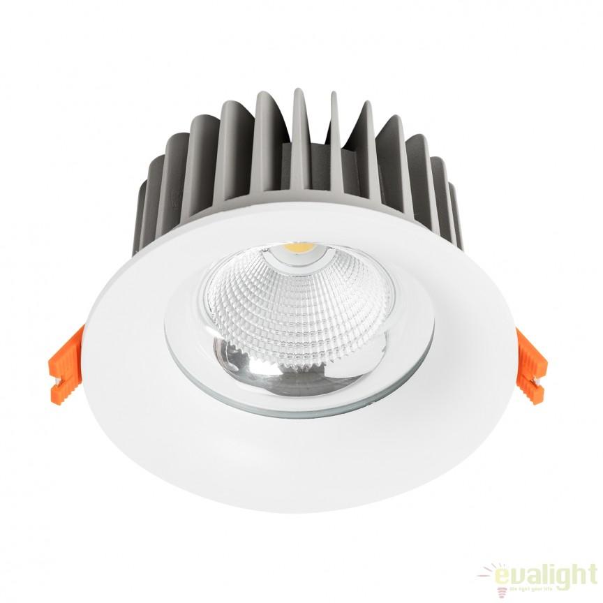 Spot LED incastrabil dimabil THOR I 23cm 100759 SU, Spoturi LED incastrate, aplicate, Corpuri de iluminat, lustre, aplice a