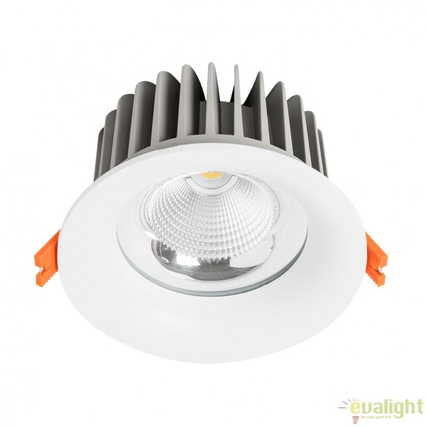 Spot LED incastrabil dimabil THOR II 23cm 100753 SU, Spoturi incastrate, aplicate - tavan / perete, Corpuri de iluminat, lustre, aplice, veioze, lampadare, plafoniere. Mobilier si decoratiuni, oglinzi, scaune, fotolii. Oferte speciale iluminat interior si exterior. Livram in toata tara.  a