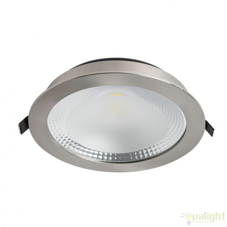 Spot LED incastrabil NAOS 101083 SU, Spoturi incastrate, aplicate - tavan / perete, Corpuri de iluminat, lustre, aplice, veioze, lampadare, plafoniere. Mobilier si decoratiuni, oglinzi, scaune, fotolii. Oferte speciale iluminat interior si exterior. Livram in toata tara.  a
