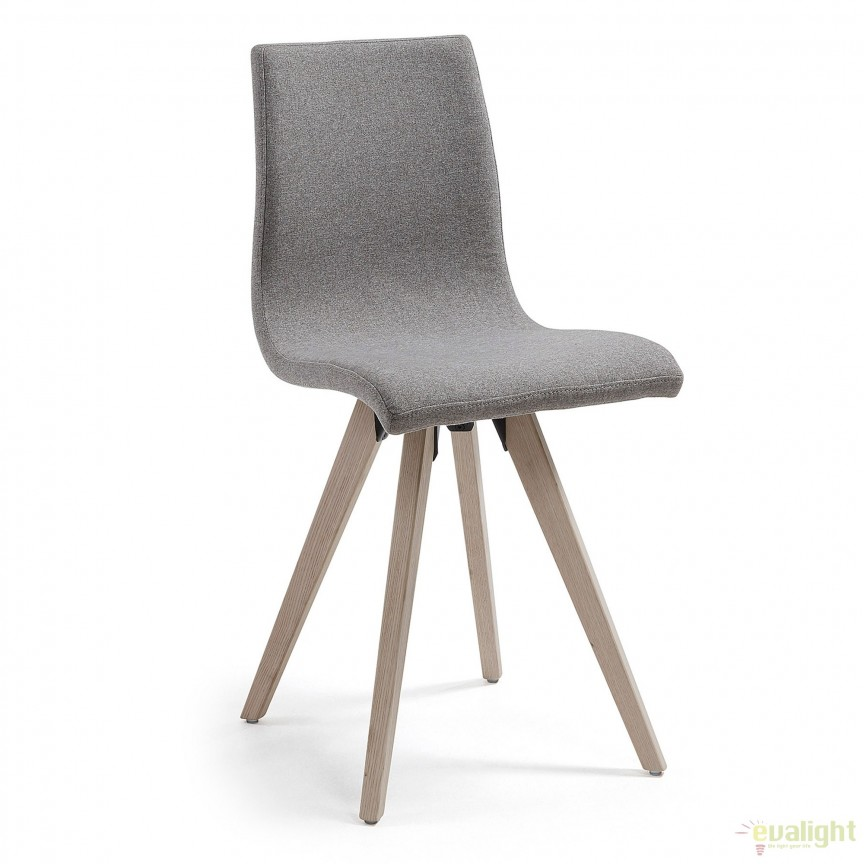 Scaun modern design nordic-minimalist UNA gri CC0288J03 JG, PROMOTII, Corpuri de iluminat, lustre, aplice, veioze, lampadare, plafoniere. Mobilier si decoratiuni, oglinzi, scaune, fotolii. Oferte speciale iluminat interior si exterior. Livram in toata tara.  a