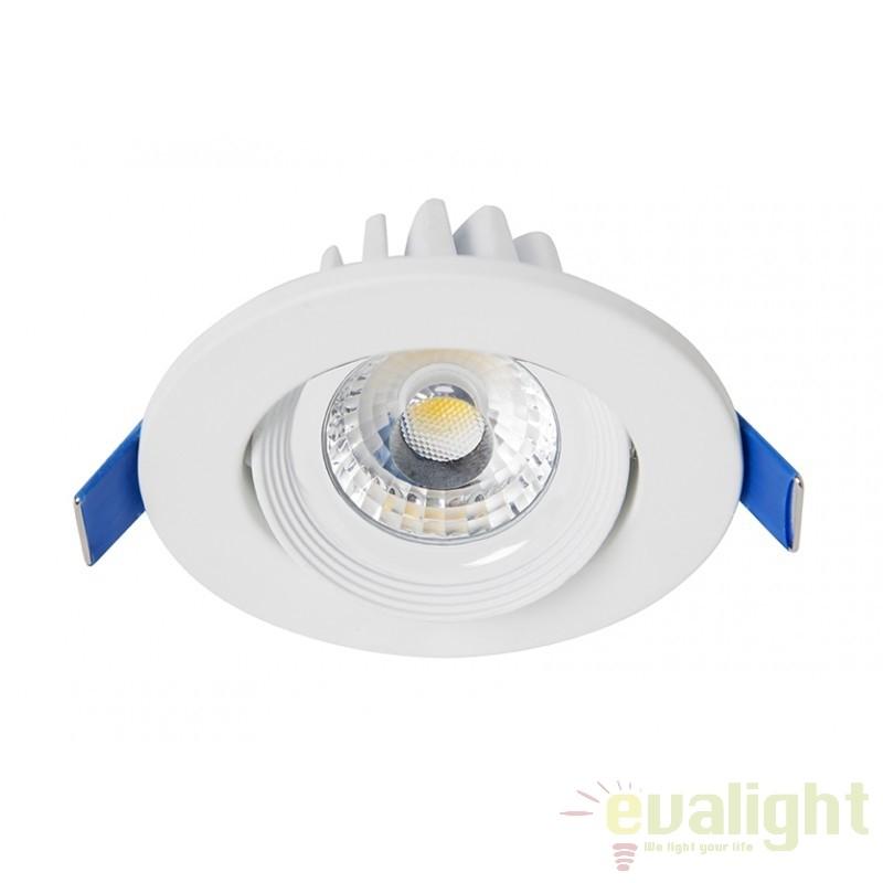 Spot LED incastrabil dimabil MINIROUND III 101086 SU, Spoturi incastrate, aplicate - tavan / perete, Corpuri de iluminat, lustre, aplice, veioze, lampadare, plafoniere. Mobilier si decoratiuni, oglinzi, scaune, fotolii. Oferte speciale iluminat interior si exterior. Livram in toata tara.  a