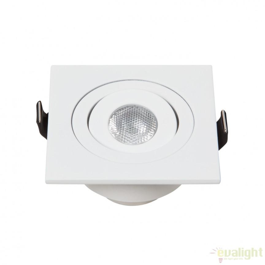 Spot LED incastrabil DOTANGLE SQUARE 100956 SU, Spoturi LED incastrate, aplicate, Corpuri de iluminat, lustre, aplice a