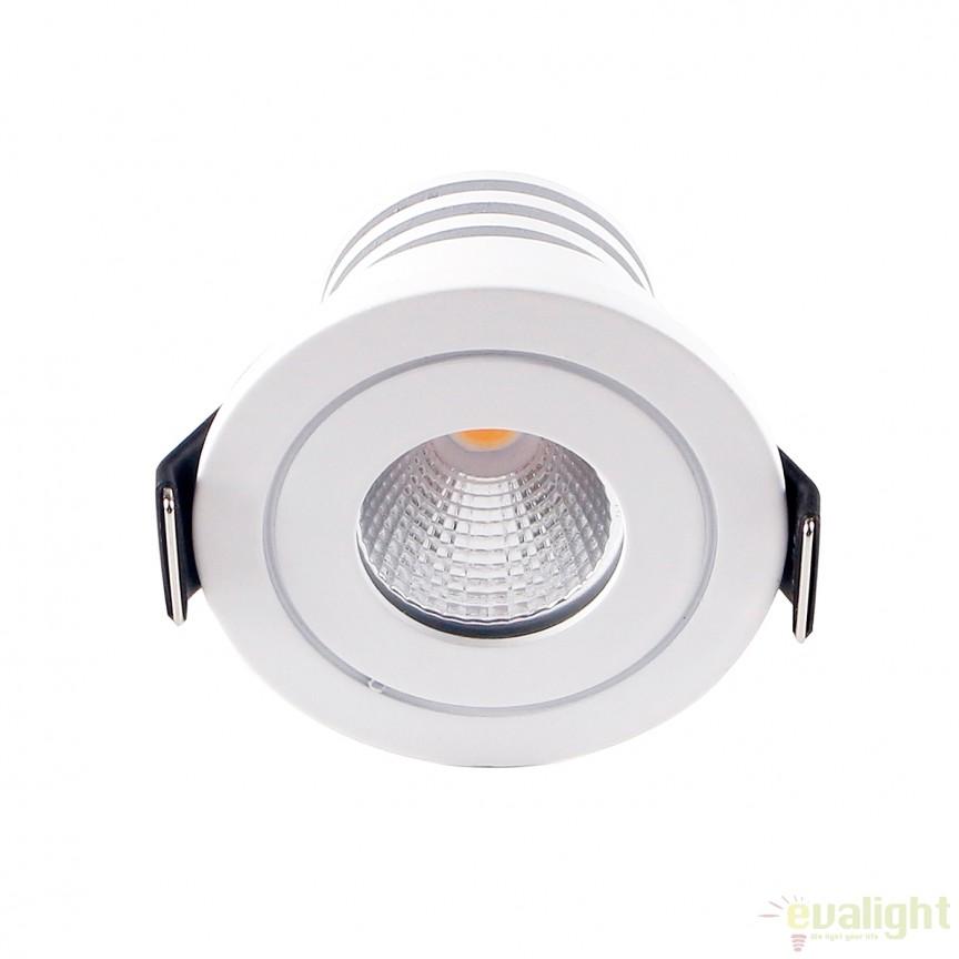 Spot LED incastrabil DOTFIX ROUND 112282 SU, Spoturi incastrate, aplicate - tavan / perete, Corpuri de iluminat, lustre, aplice, veioze, lampadare, plafoniere. Mobilier si decoratiuni, oglinzi, scaune, fotolii. Oferte speciale iluminat interior si exterior. Livram in toata tara.  a