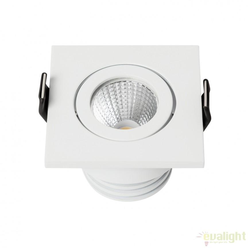 Spot LED incastrabil MINIDOT ANGLE SQUARE 112288 SU, Spoturi incastrate, aplicate - tavan / perete, Corpuri de iluminat, lustre, aplice, veioze, lampadare, plafoniere. Mobilier si decoratiuni, oglinzi, scaune, fotolii. Oferte speciale iluminat interior si exterior. Livram in toata tara.  a