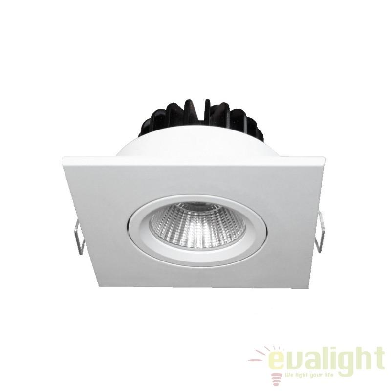 Spot LED incastrabil COBFIX MINI SQUARE 100892 SU, Spoturi LED incastrate, aplicate, Corpuri de iluminat, lustre, aplice a