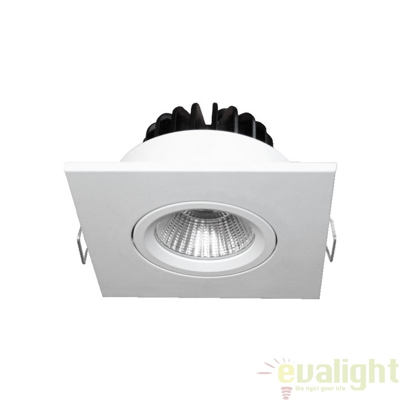 Spot LED incastrabil COBFIX MINI SQUARE 100892 SU, Spoturi LED incastrate, aplicate, Corpuri de iluminat, lustre, aplice, veioze, lampadare, plafoniere. Mobilier si decoratiuni, oglinzi, scaune, fotolii. Oferte speciale iluminat interior si exterior. Livram in toata tara.  a