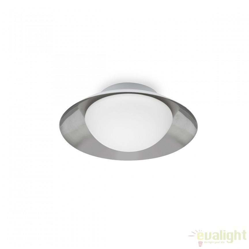 Plafoniera LED moderna SIDE G9 nickel/alb 62133 , ILUMINAT INTERIOR LED , ⭐ modele moderne de lustre LED cu telecomanda potrivite pentru living, bucatarie, birou, dormitor, baie, camera copii (bebe si tineret), casa scarii, hol. ✅Design de lux premium actual Top 2020! ❤️Promotii lampi LED❗ ➽ www.evalight.ro. Alege oferte la sisteme si corpuri de iluminat cu LED dimabile (becuri cu leduri si module LED integrate cu lumina calda, naturala sau rece), ieftine si de lux. Cumpara la comanda sau din stoc, oferte si reduceri speciale cu vanzare rapida din magazine la cele mai bune preturi. Te aşteptăm sa admiri calitatea superioara a produselor noastre live în showroom-urile noastre din Bucuresti si Timisoara❗ a