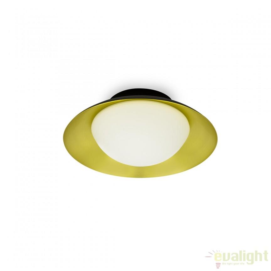 Plafoniera LED moderna SIDE G9 negru/auriu 62134 , ILUMINAT INTERIOR LED , ⭐ modele moderne de lustre LED cu telecomanda potrivite pentru living, bucatarie, birou, dormitor, baie, camera copii (bebe si tineret), casa scarii, hol. ✅Design de lux premium actual Top 2020! ❤️Promotii lampi LED❗ ➽ www.evalight.ro. Alege oferte la sisteme si corpuri de iluminat cu LED dimabile (becuri cu leduri si module LED integrate cu lumina calda, naturala sau rece), ieftine si de lux. Cumpara la comanda sau din stoc, oferte si reduceri speciale cu vanzare rapida din magazine la cele mai bune preturi. Te aşteptăm sa admiri calitatea superioara a produselor noastre live în showroom-urile noastre din Bucuresti si Timisoara❗ a