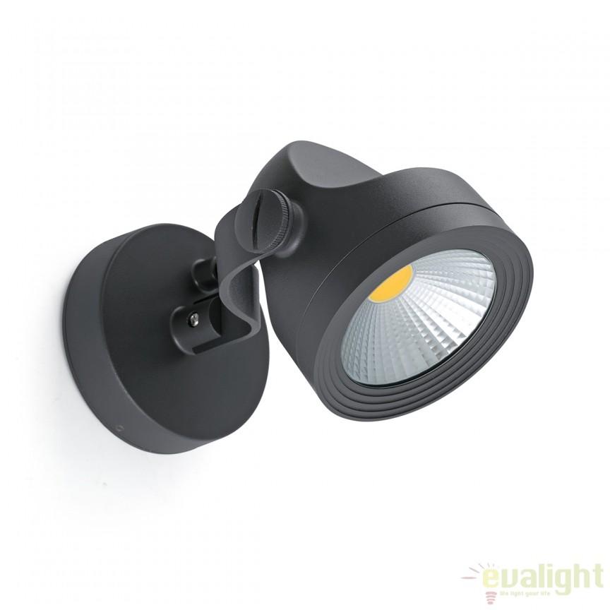Aplica / Proiector LED de exterior cu protectie IP65 ALFA 70025 , Proiectoare de iluminat exterior , Corpuri de iluminat, lustre, aplice, veioze, lampadare, plafoniere. Mobilier si decoratiuni, oglinzi, scaune, fotolii. Oferte speciale iluminat interior si exterior. Livram in toata tara.  a
