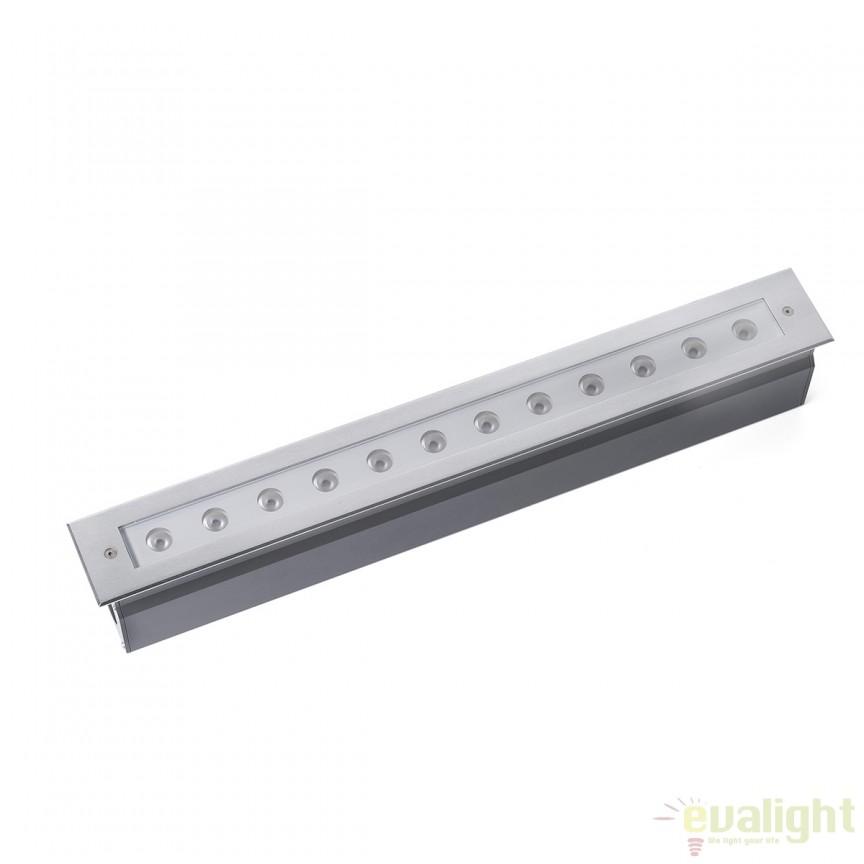CORP ILUMINAT LED INCASTRABIL EXTERIOR GRAVA Inox 70448 , Iluminat exterior incastrabil , Corpuri de iluminat, lustre, aplice, veioze, lampadare, plafoniere. Mobilier si decoratiuni, oglinzi, scaune, fotolii. Oferte speciale iluminat interior si exterior. Livram in toata tara.  a