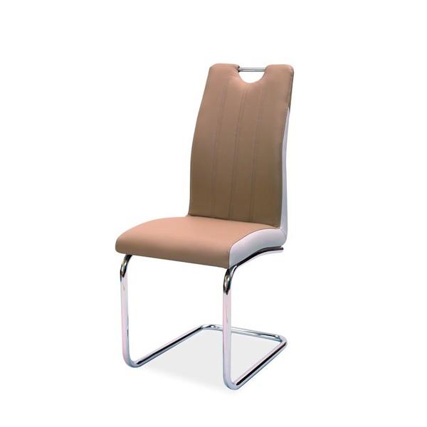 Scaun elegant si modern cu design ergonomic H342 cappuccino H342CA SM, Mobila si Decoratiuni,  a