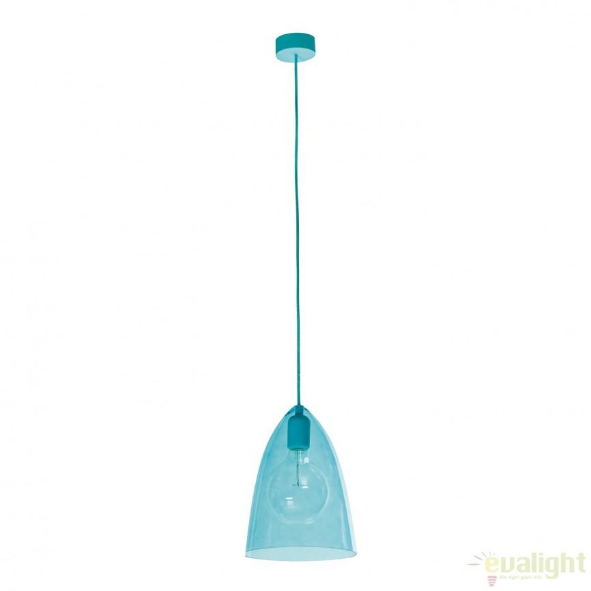 Pendul design modern GLASSY ALBASTRU 187021 SU, Cele mai noi produse 2017 a