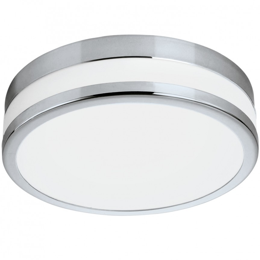 Plafoniera LED design modern IP44, diametru 22,5cm PALERMO 94998 EL, Magazin, Corpuri de iluminat, lustre, aplice, veioze, lampadare, plafoniere. Mobilier si decoratiuni, oglinzi, scaune, fotolii. Oferte speciale iluminat interior si exterior. Livram in toata tara.  a