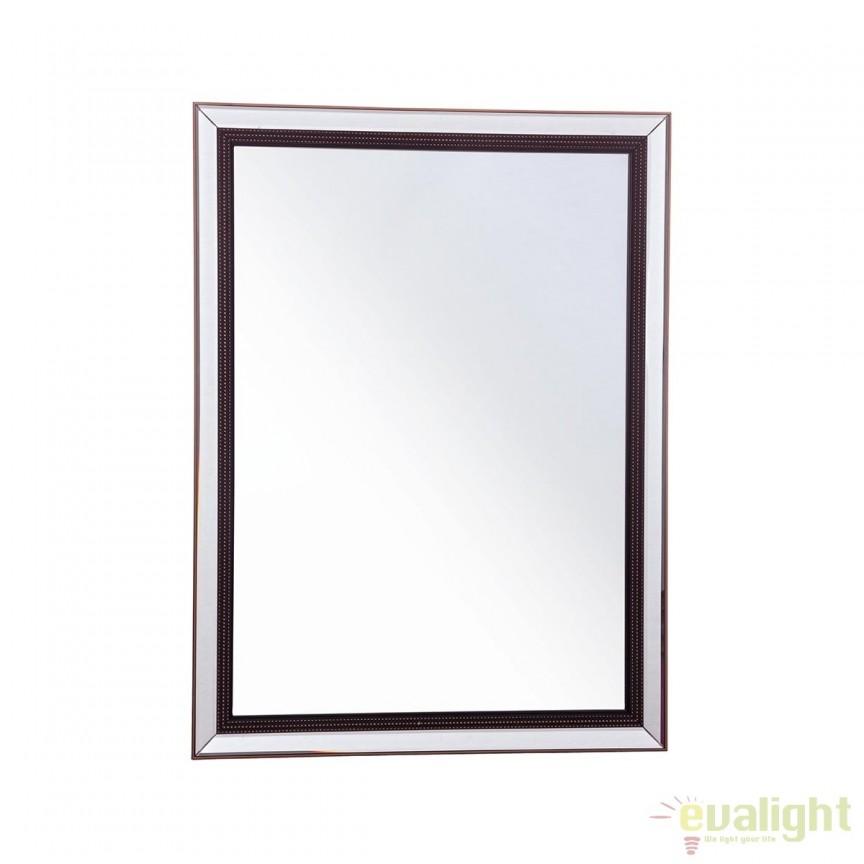 Oglinda decorativa 70x100cm DRAW 0242162 BZ, PROMOTII, Corpuri de iluminat, lustre, aplice, veioze, lampadare, plafoniere. Mobilier si decoratiuni, oglinzi, scaune, fotolii. Oferte speciale iluminat interior si exterior. Livram in toata tara.  a