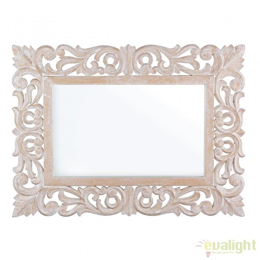 Oglinda decorativa design elegant 45x60cm DALILA 0242245 BZ, Oglinzi decorative,  a