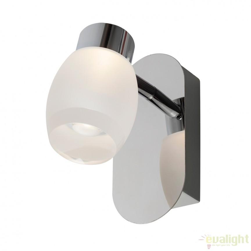 Aplica de perete LED pentru baie IP44 CLART 5W 541400 SU, Aplice pentru baie, oglinda, tablou, Corpuri de iluminat, lustre, aplice, veioze, lampadare, plafoniere. Mobilier si decoratiuni, oglinzi, scaune, fotolii. Oferte speciale iluminat interior si exterior. Livram in toata tara.  a