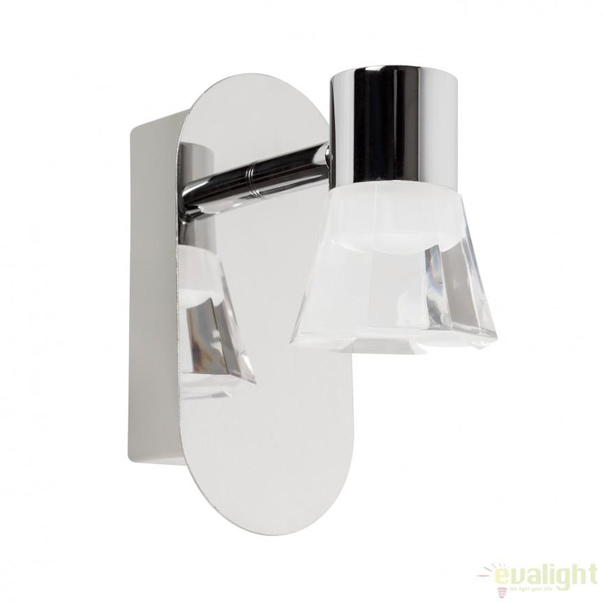 Aplica de perete LED pentru baie IP44 NOEMI 5W 541500 SU, Aplice pentru baie, oglinda, tablou, Corpuri de iluminat, lustre, aplice, veioze, lampadare, plafoniere. Mobilier si decoratiuni, oglinzi, scaune, fotolii. Oferte speciale iluminat interior si exterior. Livram in toata tara.  a