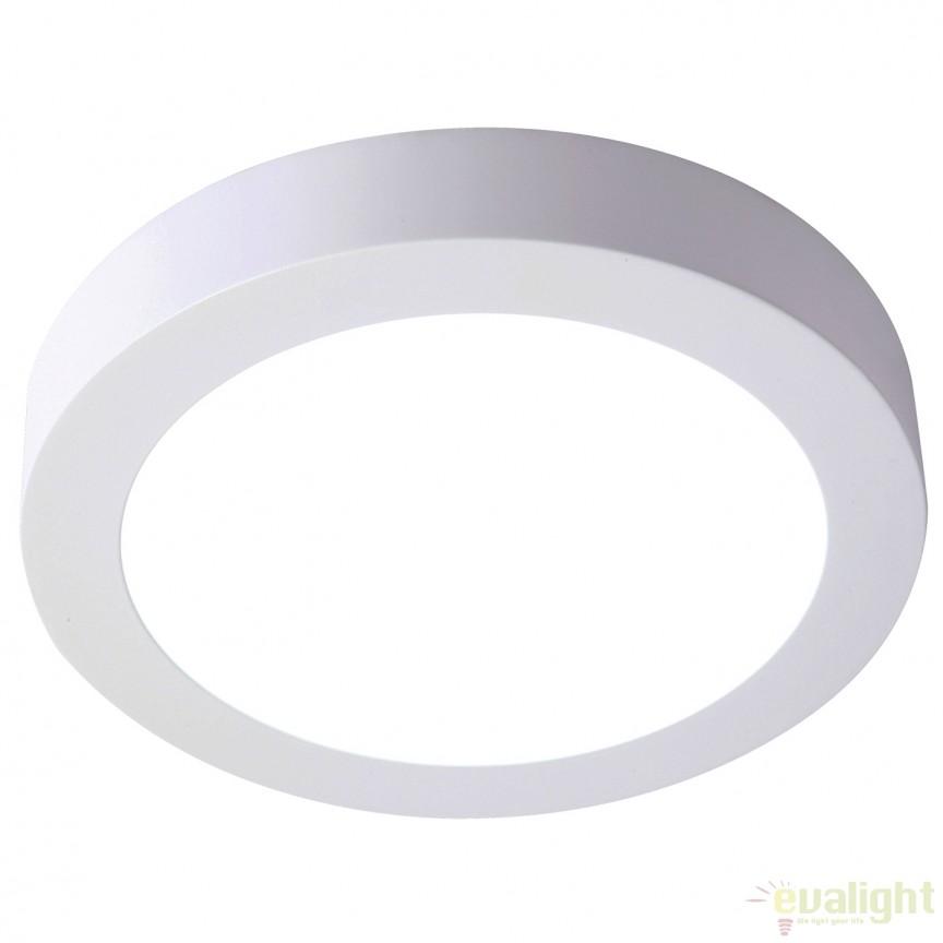 Plafoniera LED exterior IP44 OUTDOOR alba 30W 122055 SU, Plafoniere de exterior, Corpuri de iluminat, lustre, aplice, veioze, lampadare, plafoniere. Mobilier si decoratiuni, oglinzi, scaune, fotolii. Oferte speciale iluminat interior si exterior. Livram in toata tara.  a