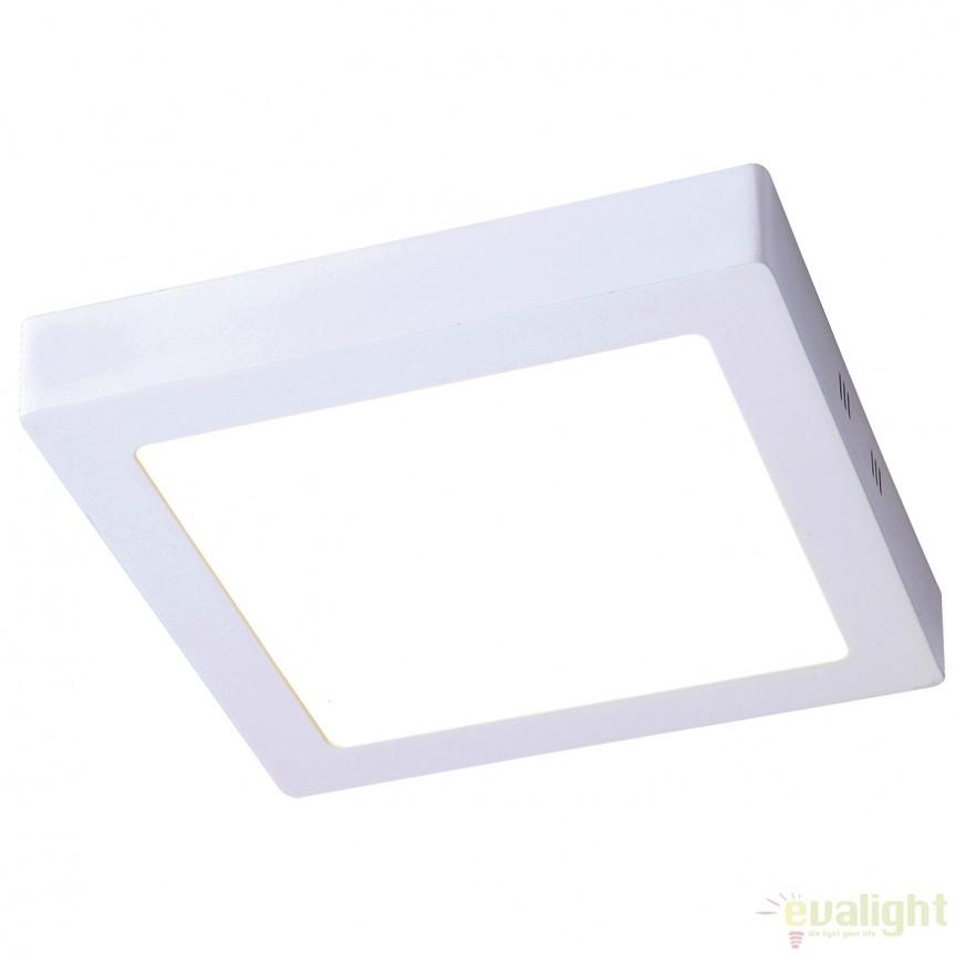 Plafoniera LED exterior IP44 OUTDOOR II alba 18W 120039 SU , Plafoniere de exterior, Corpuri de iluminat, lustre, aplice, veioze, lampadare, plafoniere. Mobilier si decoratiuni, oglinzi, scaune, fotolii. Oferte speciale iluminat interior si exterior. Livram in toata tara.  a