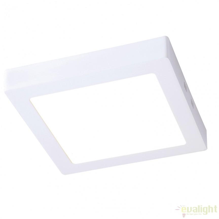 Plafoniera LED exterior IP44 OUTDOOR II alba 30W 122054 SU, Plafoniere de exterior, Corpuri de iluminat, lustre, aplice, veioze, lampadare, plafoniere. Mobilier si decoratiuni, oglinzi, scaune, fotolii. Oferte speciale iluminat interior si exterior. Livram in toata tara.  a